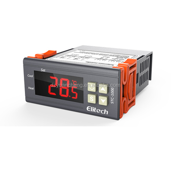 seafood and water chiller Elitech digital temperature controller STC-1000 incubator controller