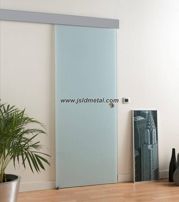 Aluminio track sistema hojas correderas para el 8 10 mm de - Precio de puertas correderas de cristal ...