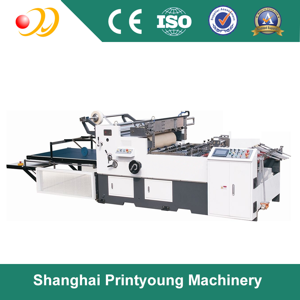 PRY-1080A High speed automatic cartons window patching machine