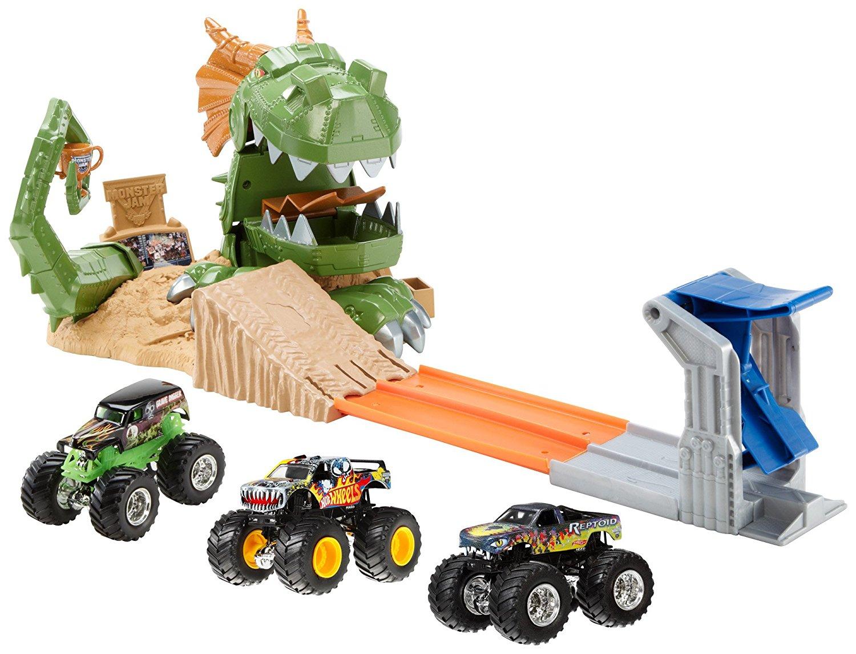 Hot Wheels Monster Jam Dragon Buildup