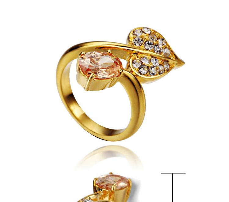 2015 Beautiful Fashion Design Ladies Gold Finger Ring - Buy Ladies ...