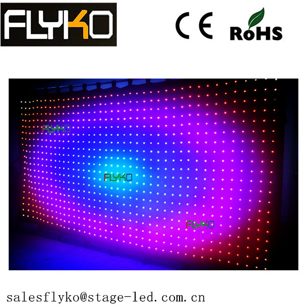 Aliexpress Outdoor Advertising Soft Led Curtain For Stage Backdrop ...