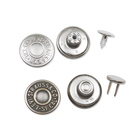 Customsized brand brass metal jean button for jeans factory sale directly