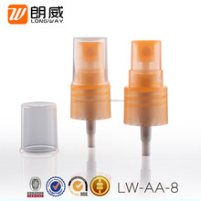 18/415 Plastic Cosmetic Sprayers Nozzle Facial Mist Spray with Cap for Toner Bottles