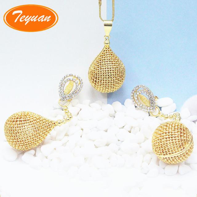 Buy cheap china 22k gold pendant sets products find china 22k gold 2018 fashion design saudi 22k gold jewelry earrings necklace wholesale brazilian gold jewelry set aloadofball Images