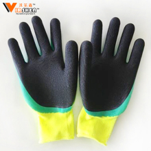 Long sleeve knitted wrist Polka Dot Cotton Gloves Dotted Cotton Gloves/Guantes De Algodon