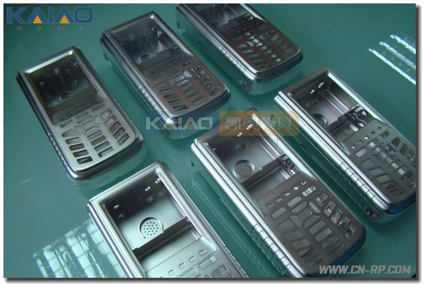 Prototype aluminum mobile phone enclosure case CNC machining service