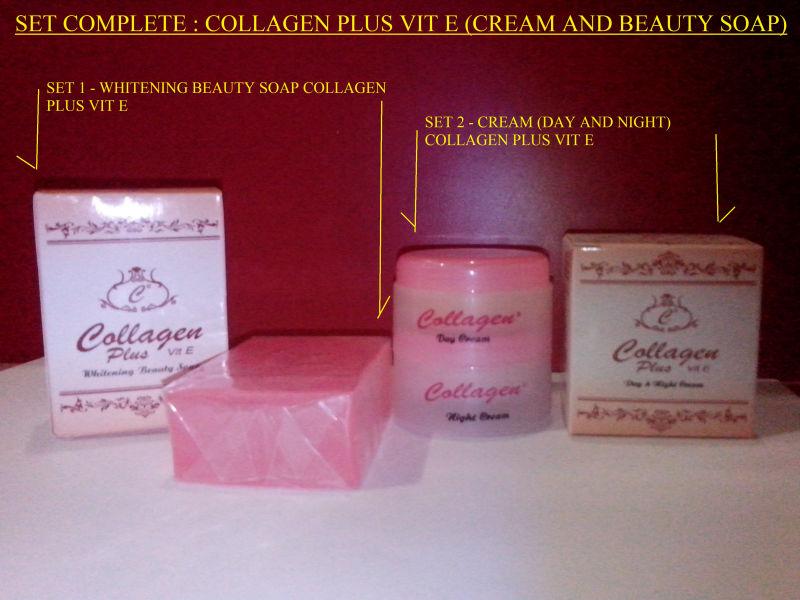 Set Collagen Plus Vitamin E