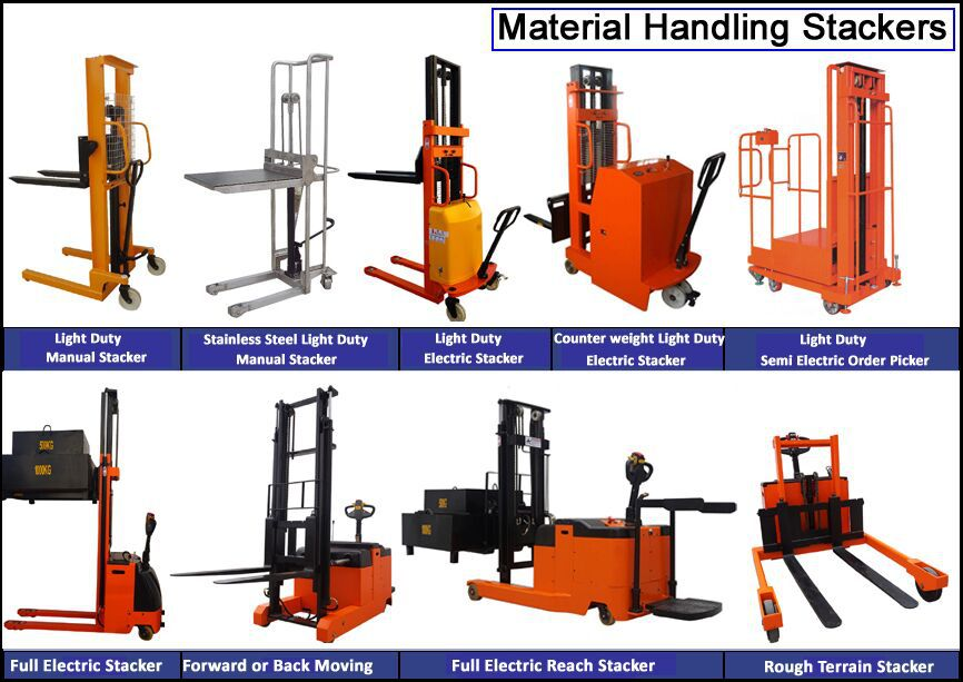 2 Ton Walk Behind Pallet Stacker Electric Forklift Price 1: Lift Truck Accessories Paper Roll Clamp Forklift