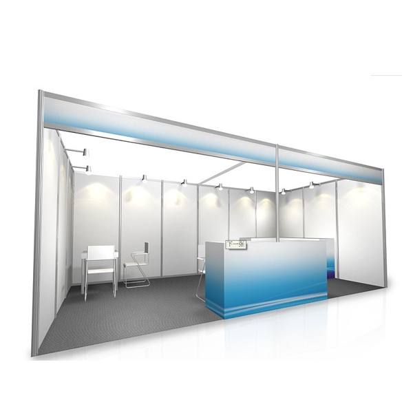 Exhibition Booth Standard Size : Aluminum profile modular expo stand buy