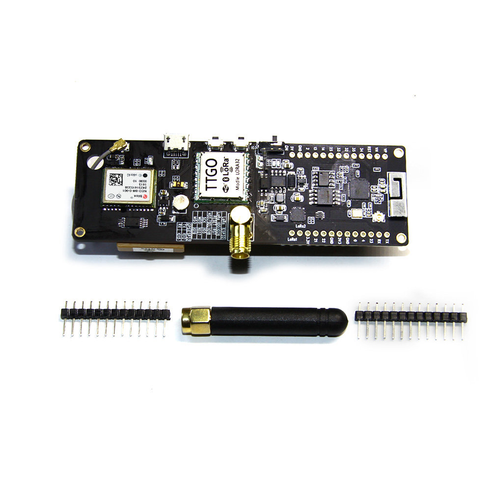 TTGO T-Beam ESP32 433Mhz WiFi wireless Module ESP 32 with GPS NEO-6M SMA LORA 32 18650 Battery holder