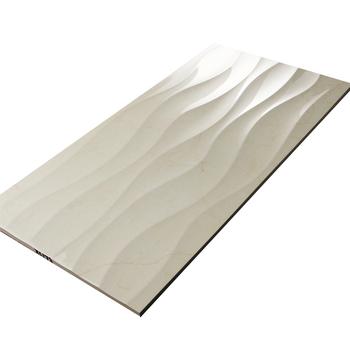 Italien Design 30x60 Beige Farbe Keramik Wandfliese Fur Bad 3d Welle