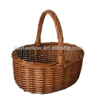 Large Wicker Fruit Baskets With Strong Integral Handles Buy Wicker