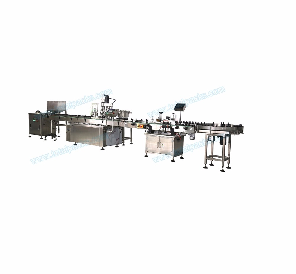 Filling Capping Labeling Production Line for Eyedrop Bottles ( SPL-100A )