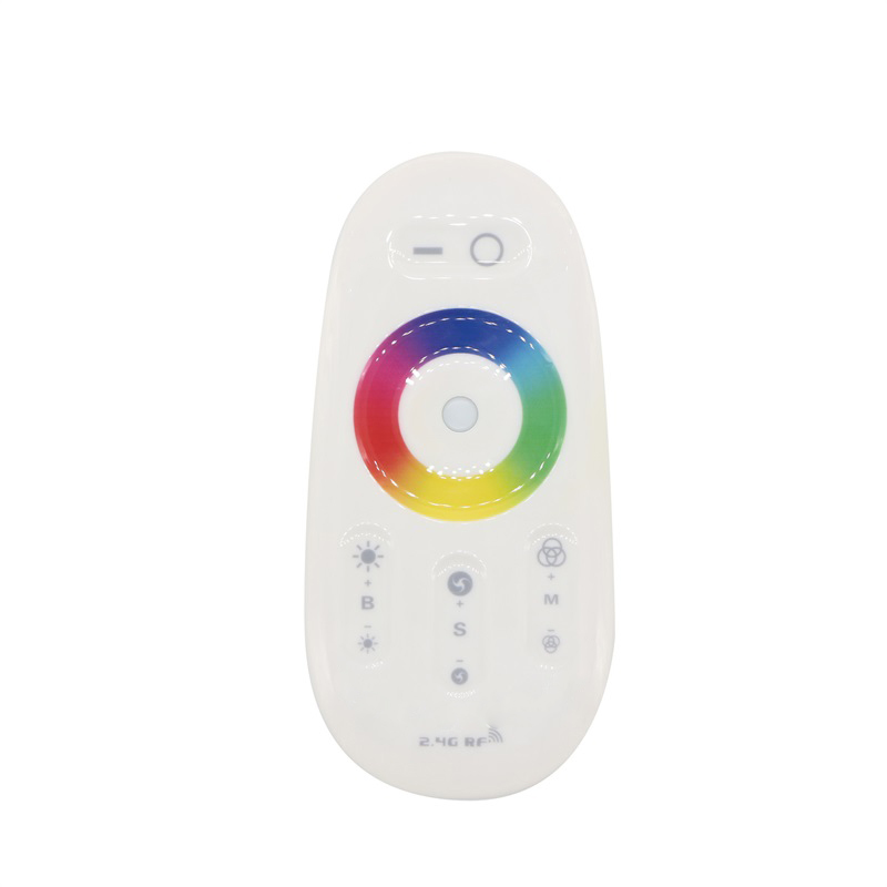2.4G Touch Screen Dimmable LED RGBW Remote Nirkabel RF Controller Untuk Cahaya Strip