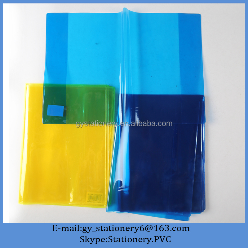 cheap stationery a3 plastic book cover