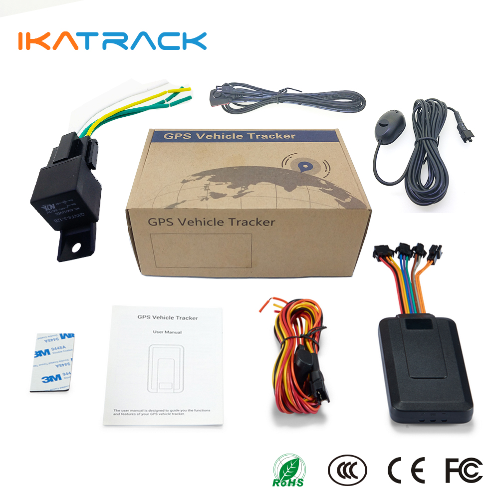 Rohs Manual Alarm GPS Locator Car Tracker gt06 Intelligent GPS Vehicle K08