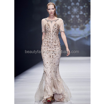 Evening Dresses Champagne Color
