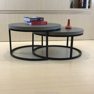 cement top table coffee table