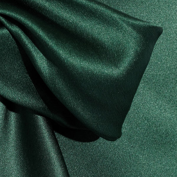 groene satijnen blouse