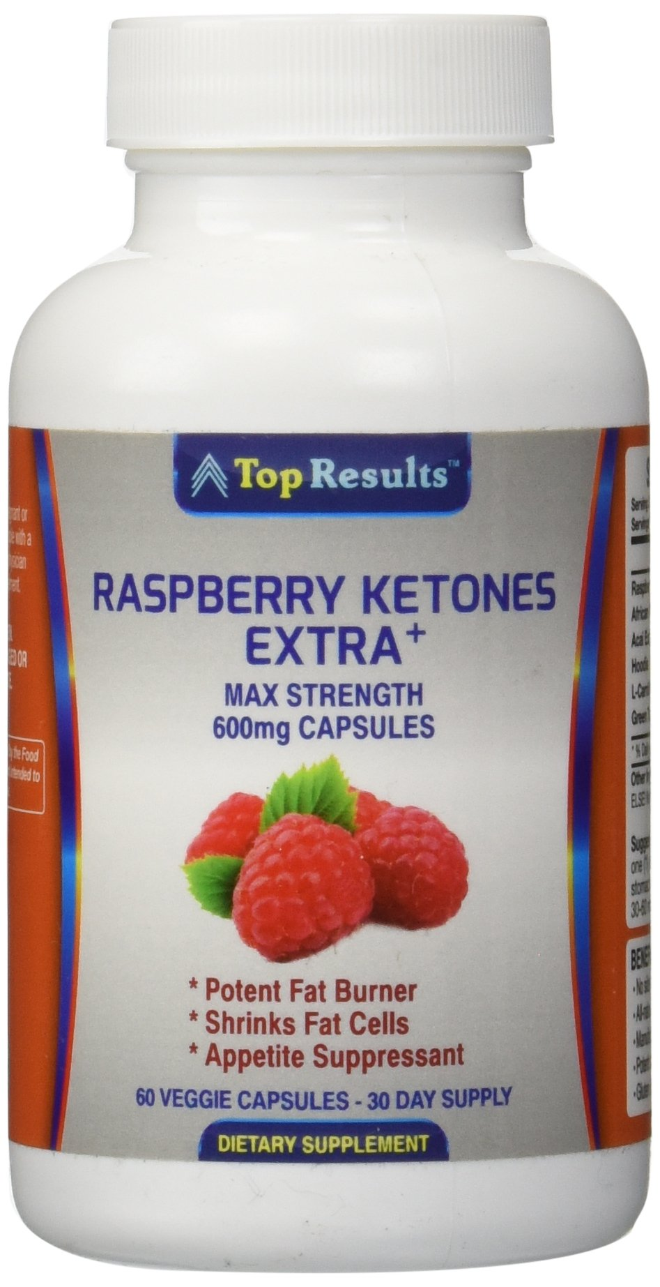 2 capsules per serving of 600 mg capsules. Pure Raspberry Ketones 500mg PLUS + African Mango Extract, Acai Berry Extract, Hoodia Gordonii, L-Carnitine and Green Tea Extract per day. Proven to be more effective than just Keytones alone - A powerful natural fat burner. This WILL burn your fat,