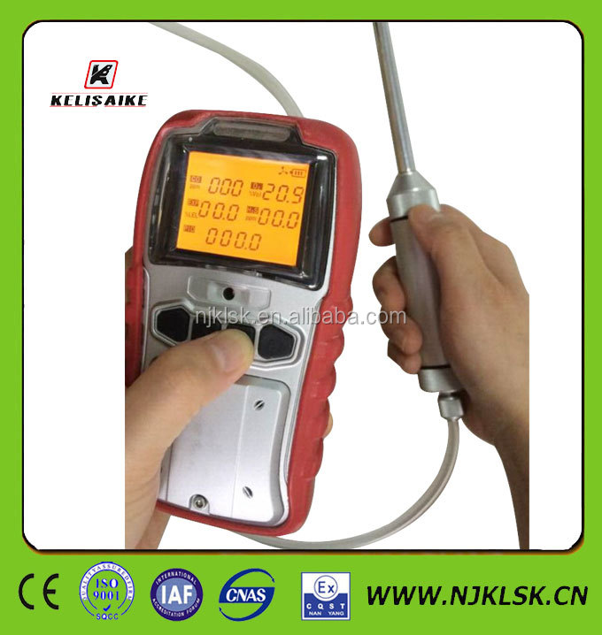 Compact pump toxic gases flammable gas analyzer ammonia sensor