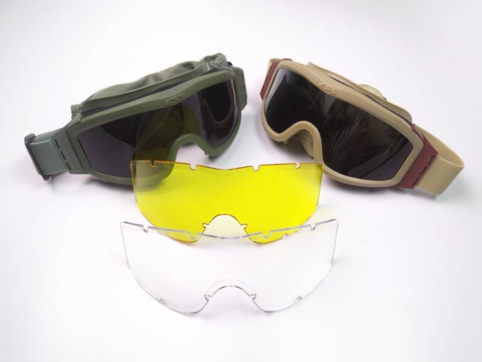33fa7a6f1c1 3 Pairs Lens ESS Glasses Tactical Army Goggles 3 Color Frame Outdoor  Hunting Wargame Motorcycle Goggles