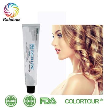 Colortour Gelap Dan Indah Warna Non Alergi Henna Pewarna Rambut