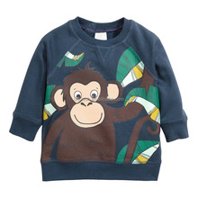Kids t Shirts In Bulk Autumn Boy Clothes Baby Boys Tops Children T shirts 2017 Brand Autumn Kids Clothes Boys Sweatshirt monkey