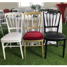 China Hot clear aluminum napoleon chair for sale