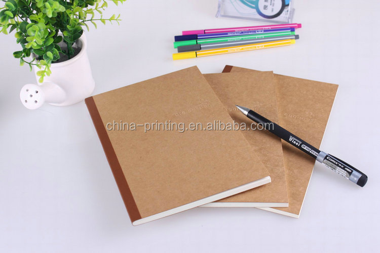2014 Best Quality Creative Design Custom Print Exercise Book