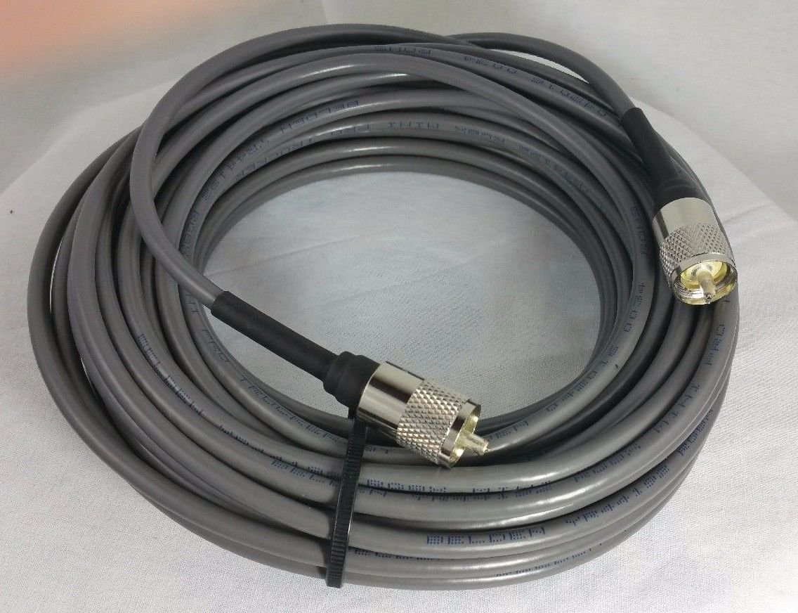 Buy BELDEN Rg8x 97% Shielded Coax Cable with Amphenol PL259 ...