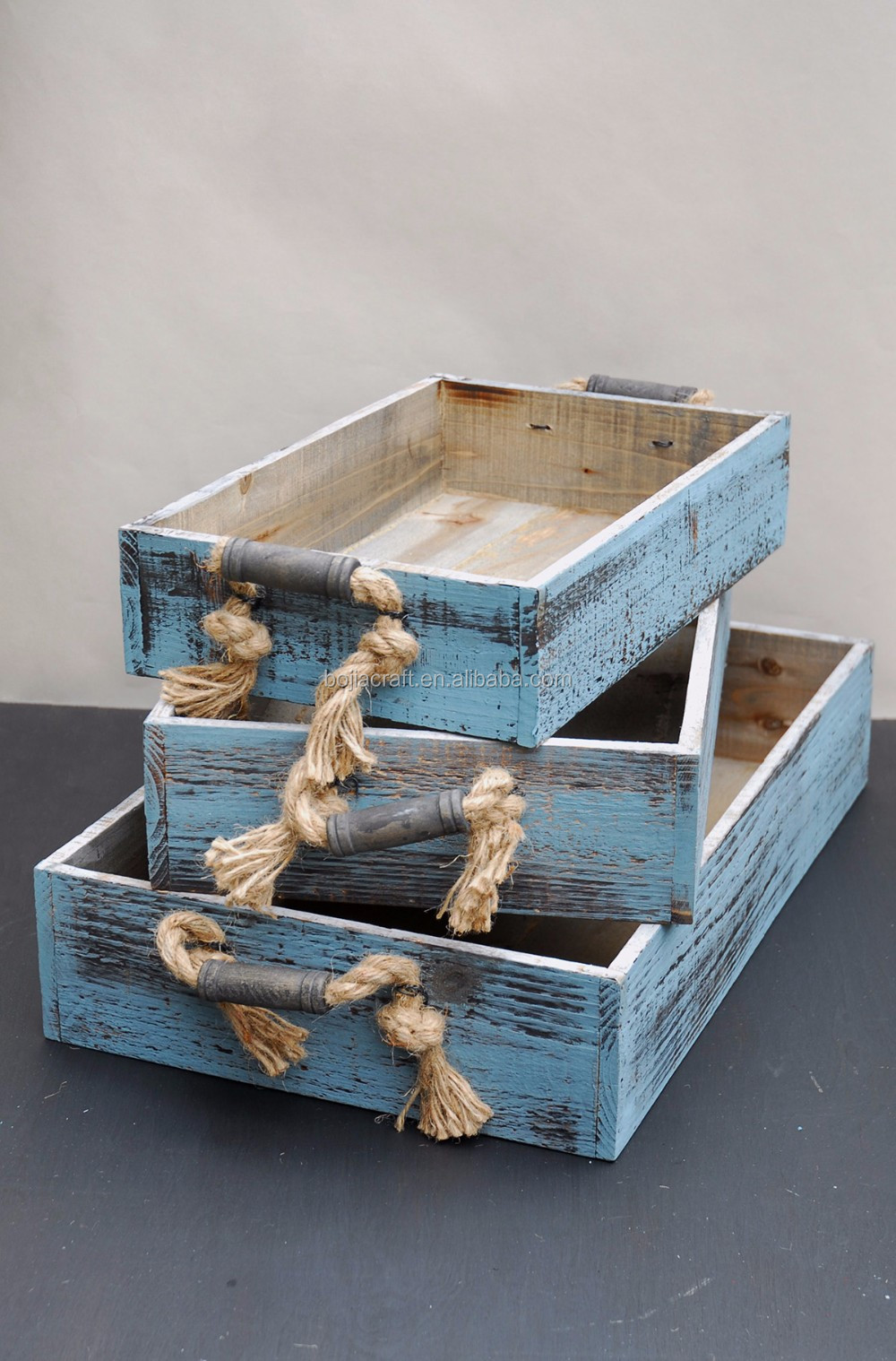 Cheap custom wooden boxes wine packaging crates for sale for Where do i find wooden crates