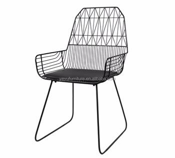 Modern Design Popular Loft Metal Wire Armchair