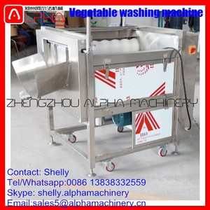 Vegetable washing machine for root crops potato cleaner tuber crops cleaning machine