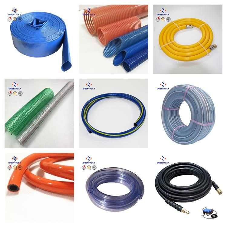 colourful flexible pvc air hose