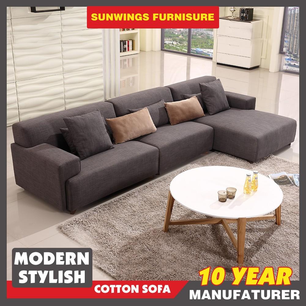 Meubles de salon moderne canapé en tissu avec la jambe de ...