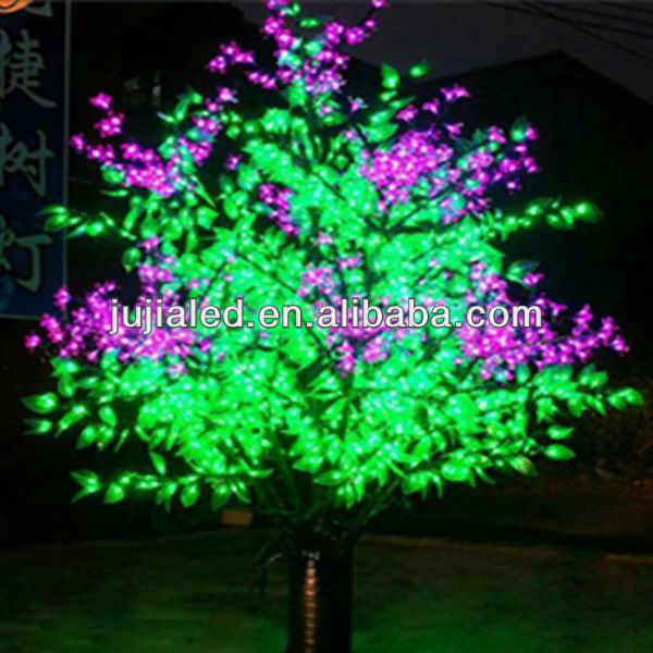 Professional decorative led tree flower lights with CE certificate