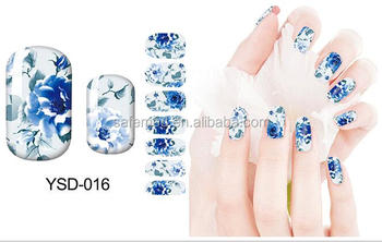 Full Cover Beautiful Nail Art Sticker For Decals Self Adhesive Water