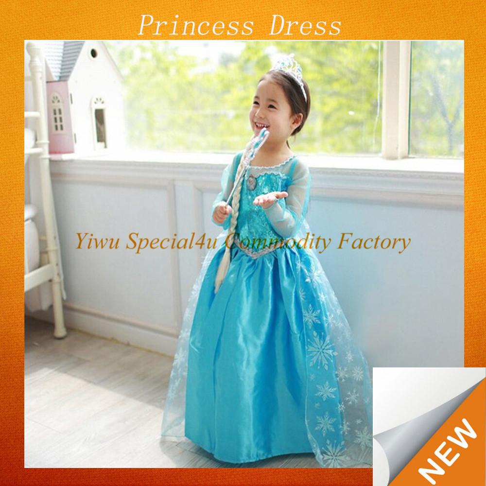 Pretty Princess Dresses/princess Kids Fancy Dress Costume/kids ...