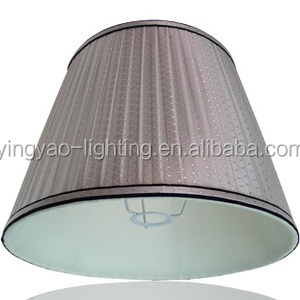 Pleated folding lamp shades lighting accessories beige black brown pleated folding lamp shades lighting accessories beige black brown color mozeypictures Image collections