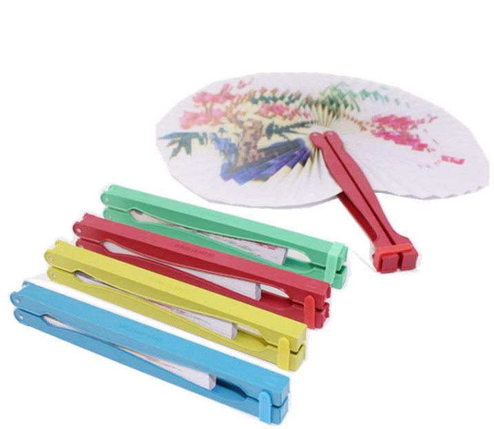 OEMPROMO Fold Out round Hand Fan
