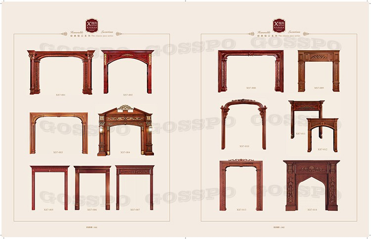 GSP20-017 Wooden Timber Door Frame Jamb Photo