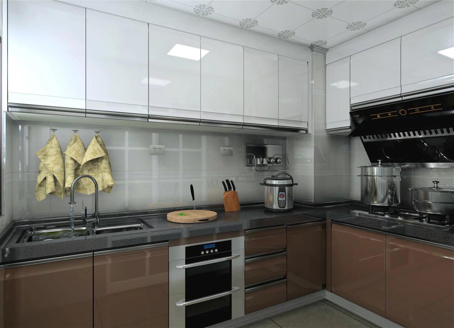 Kerala precio negro superficie s lida cocina home depot for Superficie cocina