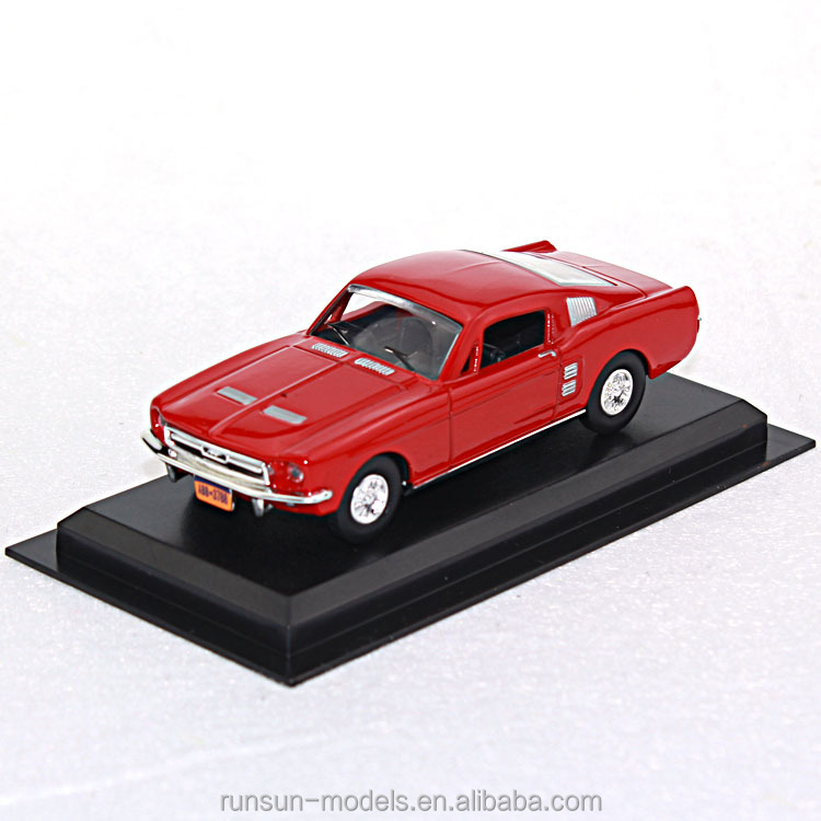 1:43 Die-cast Scale Classic toy model car Ford Mustang