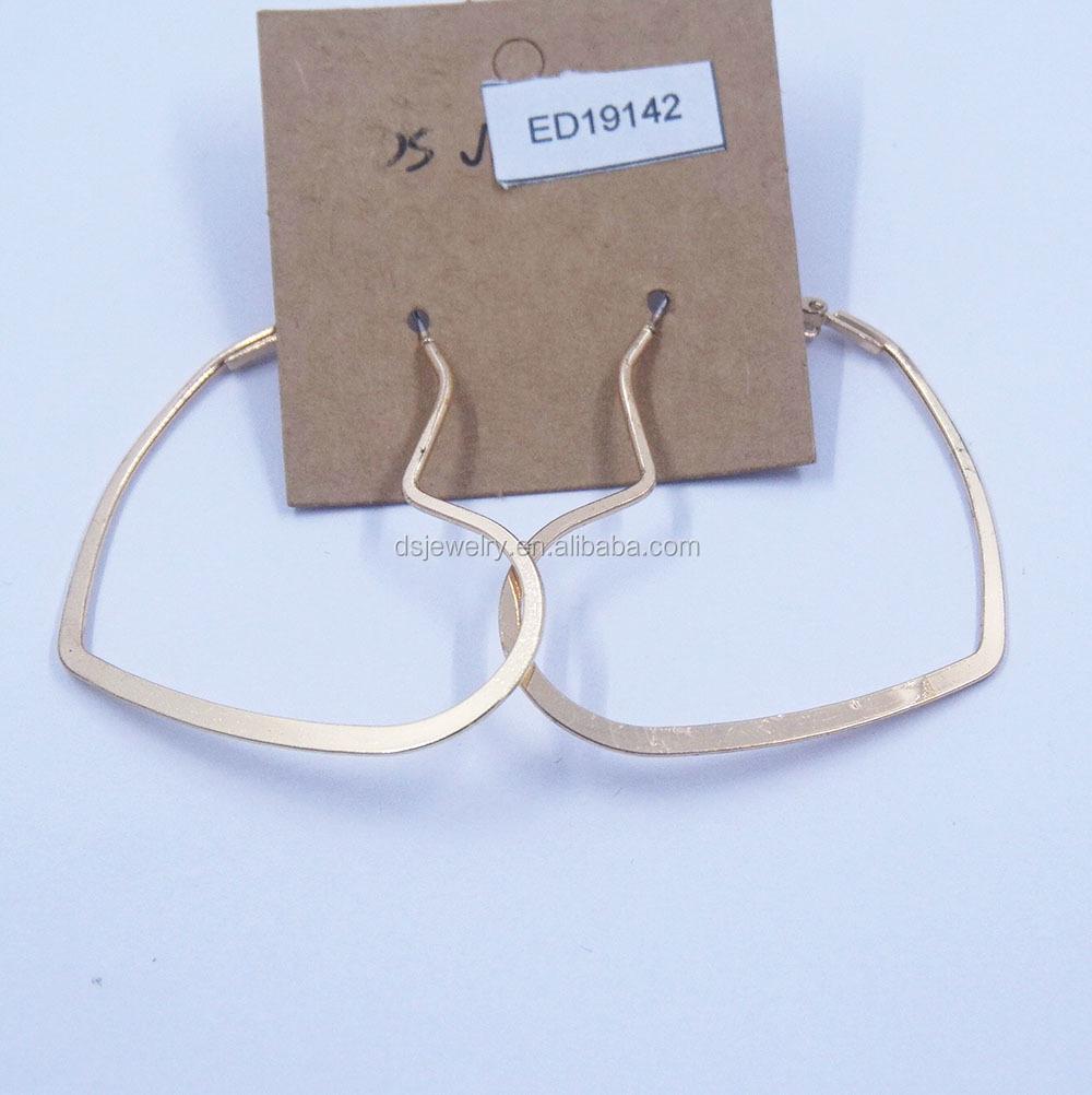 Wholesale Love Heart Shape Boy Gold Bali Earrings Designs 2017 Buy