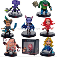 Dota 2 Game action figure custom,make your own design,OEM customized dota 2 game action figure