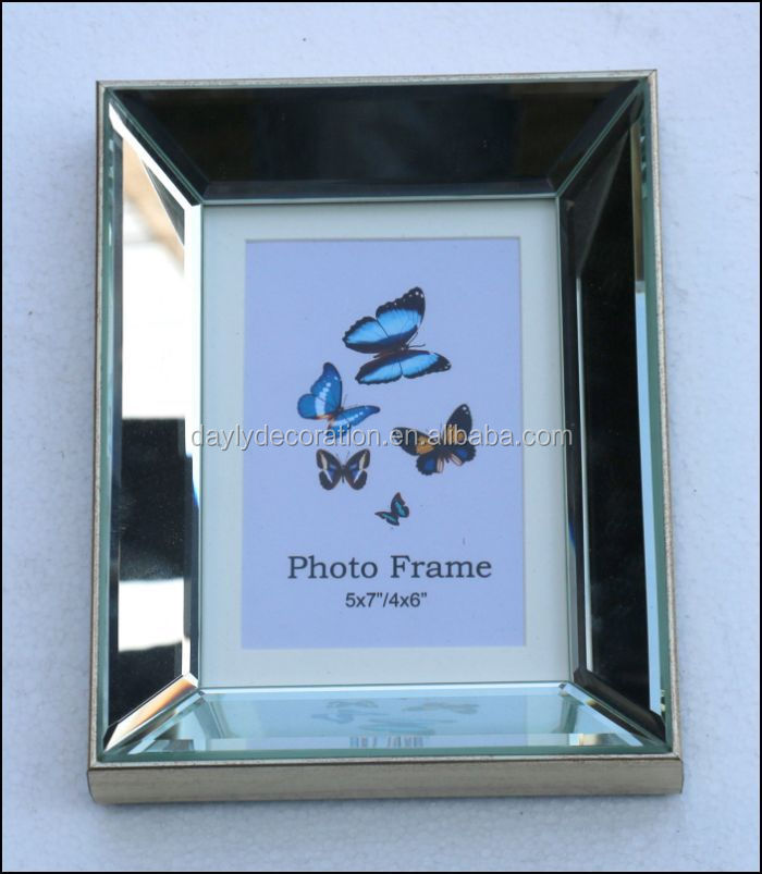Ps Mirror Picture Frame A Little Smaller Than 6x9 Photo Frame - Buy ...