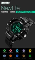 Skmei 1180 Heart Rate Watch Instructions 2016 Water Resistant ...