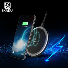 2018 OEM Pattern Qi Enabled Wireless Charger Inductive Charging Pad Station for All Qi Standard Compatible Devices